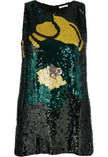 P.A.R.O.S.H. Blusa Com Paetês - 822