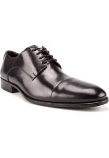 Sapato Masculino Woche Recorte Preto