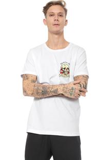 Camiseta Ed Hardy Death Or Glory Branca