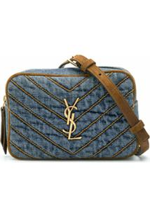 Saint Laurent Pochete Jeans Marsupio - Azul
