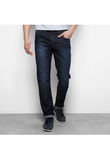 Calça Jeans Skinny Calvin Klein Escura Stone Masculina - Masculino