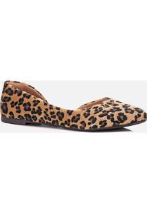 Sapatilha Feminino Milano Jaguar Camel 10586