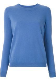 Le Lis Blanc Blusa De Tricô Cashmere - Azul