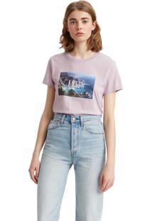 Camiseta Levis The Perfect Roxo