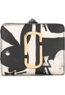 Marc Jacobs Carteira 'Playboy' Mini - Preto