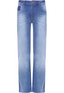 Calça Masculina Slim Dark Sapphire - Azul
