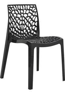 Cadeira Gruvyer Preta Rivatti Móveis