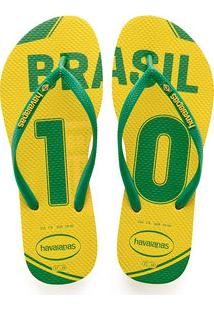 Chinelo Feminino Brasil Teams Havaianas