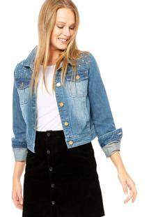 Jaqueta Mooncity Jeans Azul