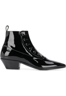 Saint Laurent Ankle Boot Gabsty - Preto