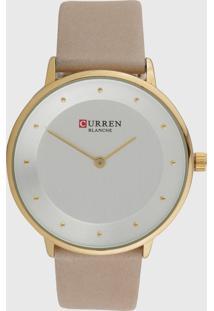 Relógio Curren C9033L /Dourado - Kanui