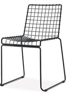 Cadeira Bert Preto Fosco 84 Cm (Alt) - 47510 - Sun House
