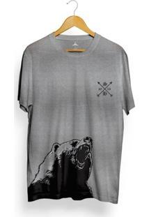 Camiseta Skill Head Bear Arrow - Masculino