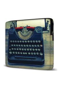 Capa Para Notebook Máquina Escrever 15.6 E 17 Polegadas Com Bolso