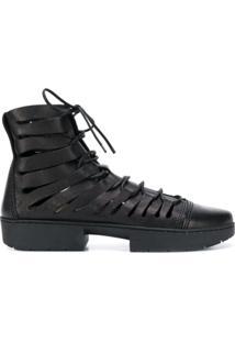 Trippen Ankle Boot 'Fight' - Preto