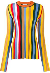 Sonia Rykiel Striped Jumper - Amarelo