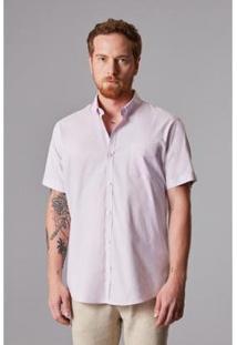 Camisa Reserva Oxford Masculino - Masculino-Rosa