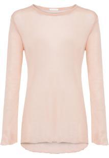 Blusa Feminina Super Fine - Nude