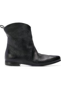 Marsèll Ankle Boot 'Formicaccio' De Couro - Preto