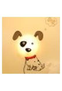 Plafon Infantil 1 Lâmpada Cachorrinho Bivolt