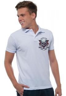 Camisa Polo Joss Urban Flock Branca
