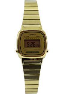 e03c416fabc Netshoes. Relógio Vintage Feminino Casio ...