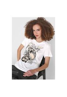 Camiseta Colcci Future Off-White