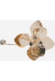 Bracelete Le Lis Blanc Flora Dourado Feminino - Bracelete Flora-Dourado-Un