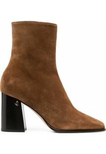 Jimmy Choo Bryelle 85Mm Ankle Boots - Marrom