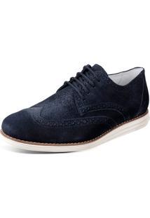Sapato Sandro Moscoloni Olin Azul Marinho