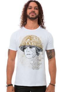 Camiseta Masculina Boy Branco B