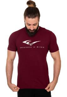 Camiseta Everlast E Textura Vinho