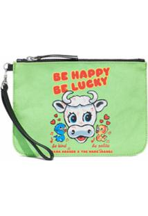 Marc Jacobs Clutch The Magda - Verde