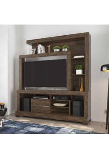 Estante Home Para Tv 55 Polegadas Ipanema I Cacau