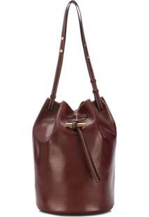 Stella Mccartney Drawstring Bucket Bag - Vermelho