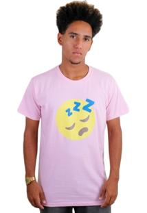 Camiseta Insane 10 Sleeping Emoji - Masculino