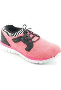 Tênis Spark Elastic Sock Rosa S - Feminino-Rosa