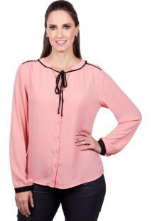 Blusa Love Poetry Lisa Pessego - Tricae