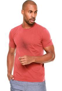 Camiseta Vr Dots Vinho