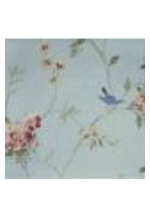Papel De Parede Fragrant Roses Fa811057 Vinílico Com Estampa Contendo Floral