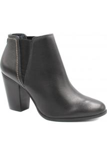 Bota Ankle Boot Jorge Bischoff Chelsea Couro