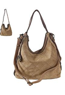 Bolsa Its! Hobo Canvas Taupe
