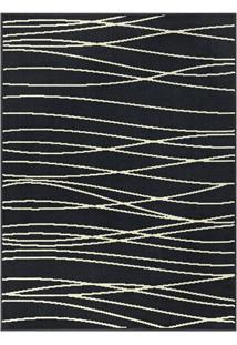 Tapete Europa Abstrato- Preto & Branco- 250X200Cm