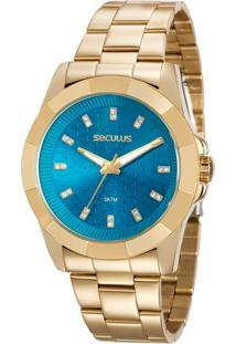 Relógio Seculus Feminino Glamour 20561Lpsvds1