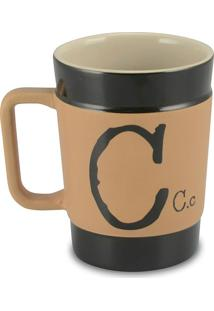 Caneca Coffe To Go- C 300Ml-Mondoceram - Pardo