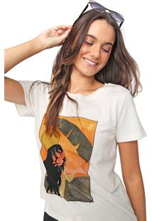 Blusa Billabong Day In Paradise Off-White