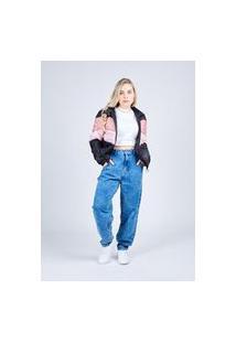 Calça Jeans Slouchy Marmo Média Gang Feminina