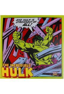 Quadro Zona Criativa Hulk Ação