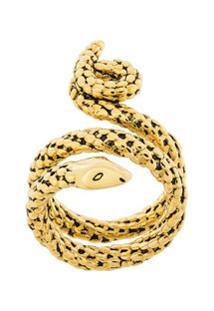 aa2af7dc720 ... Aurelie Bidermann Anel  Snake  De Ouro - Metálico
