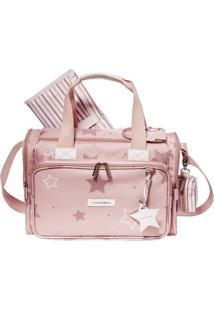 Bolsa Térmica - Anne - Estrelas - Rose - Masterbag